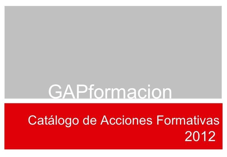 cat logo gap 2012