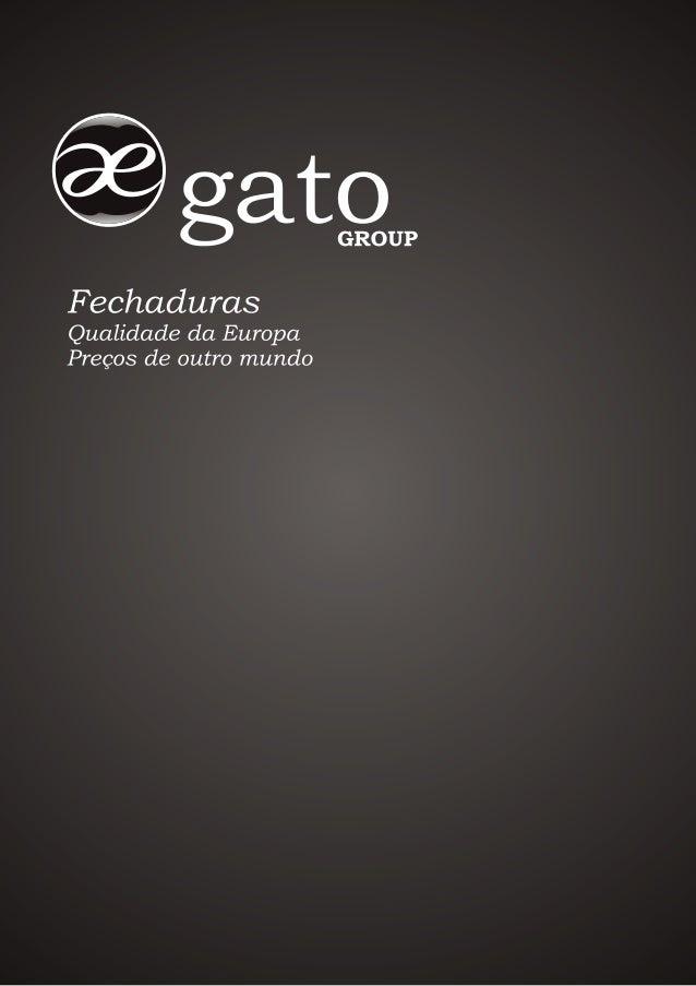 Catálogo gato group