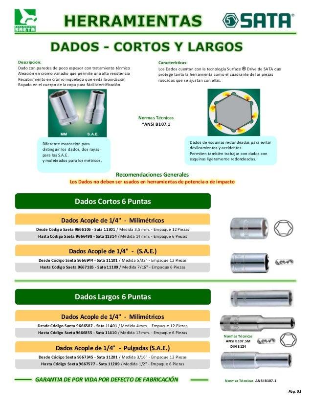 Catálogo General Saeta, c.a. Slide 3
