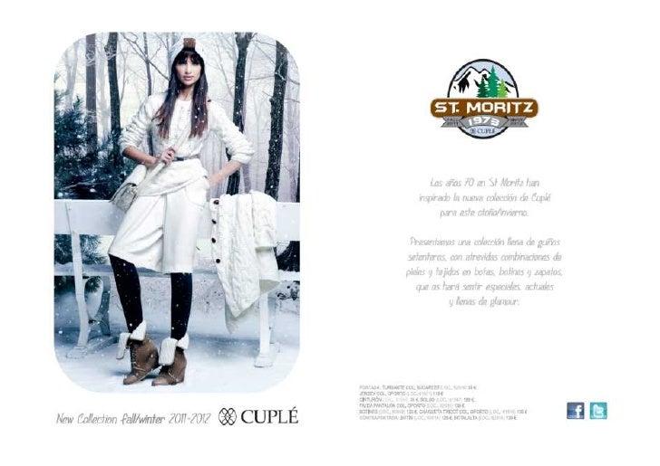 Catálogo Invierno/Inverno Cuplé 2011-2012