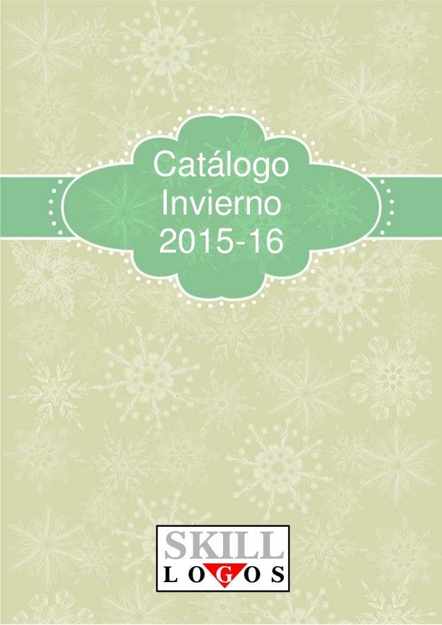Catálogo  Invierno  2015-16