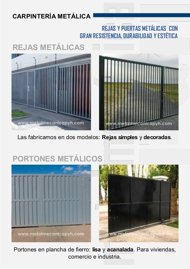 Modelos de puertas metalicas para casas puerta de entrada - Puertas metalicas para casas ...