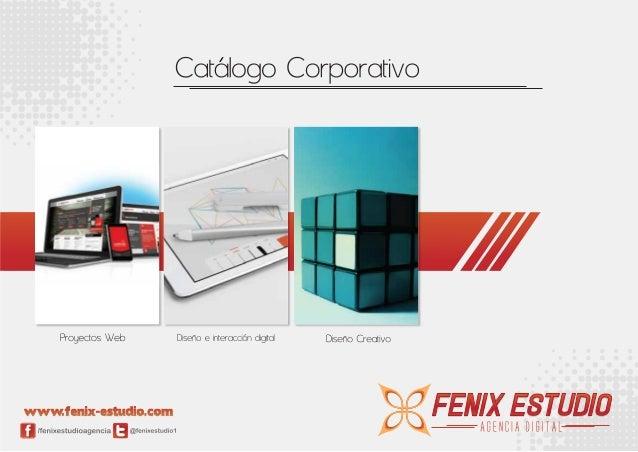Catálogo nuevo fenix estudio nueva imagen