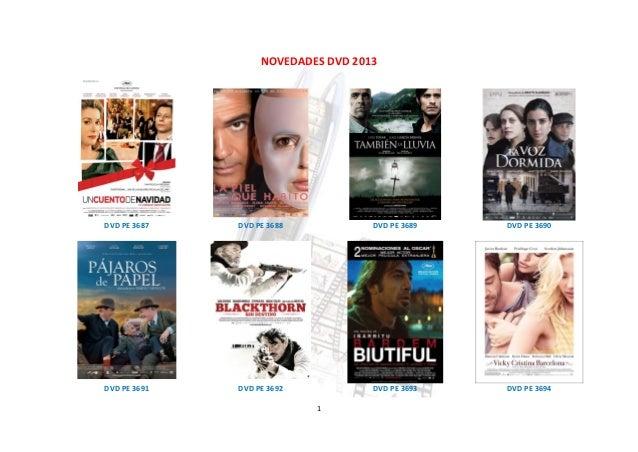 NOVEDADES DVD 2013DVD PE 3687   DVD PE 3688           DVD PE 3689   DVD PE 3690DVD PE 3691   DVD PE 3692           DVD PE ...