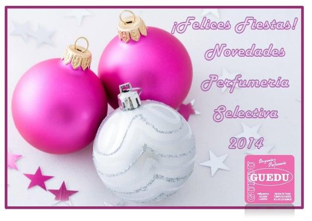 Un año más queremos agradecerte tu fidelidad.  ¿Y qué mejor forma que enseñándote nuestras novedades en perfumería selecti...