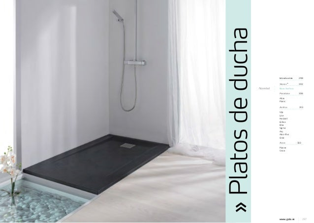 Cat logo platos de ducha gala 2013 for Platos de ducha bricor