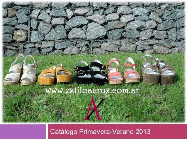 Catálogo Primavera-Verano 2013