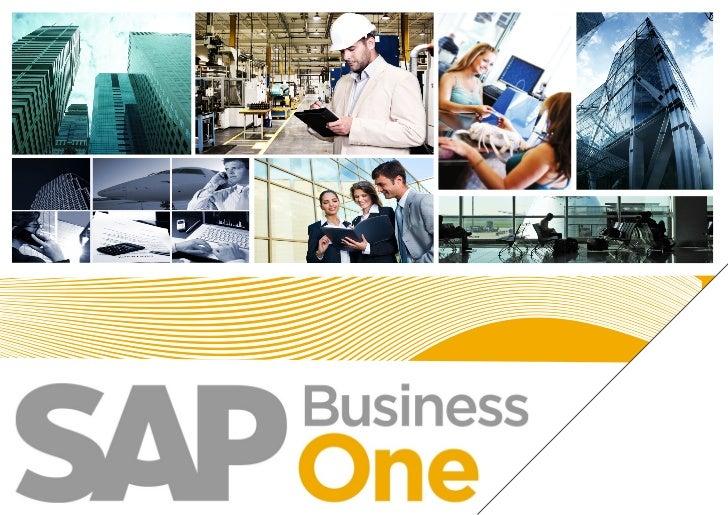 O SAP Business One é um software de gestão empresarial - ERP                    específico para PEQUENAS e MÉDIAS empresas...