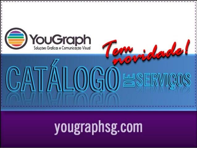 Catálogo de Serviços YOUGRAPH