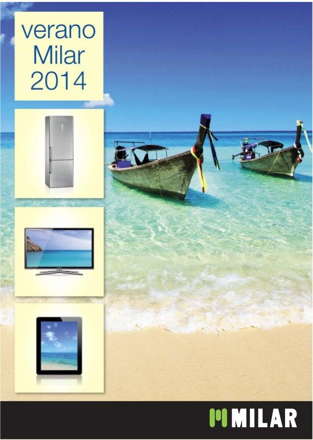 Catálogo verano