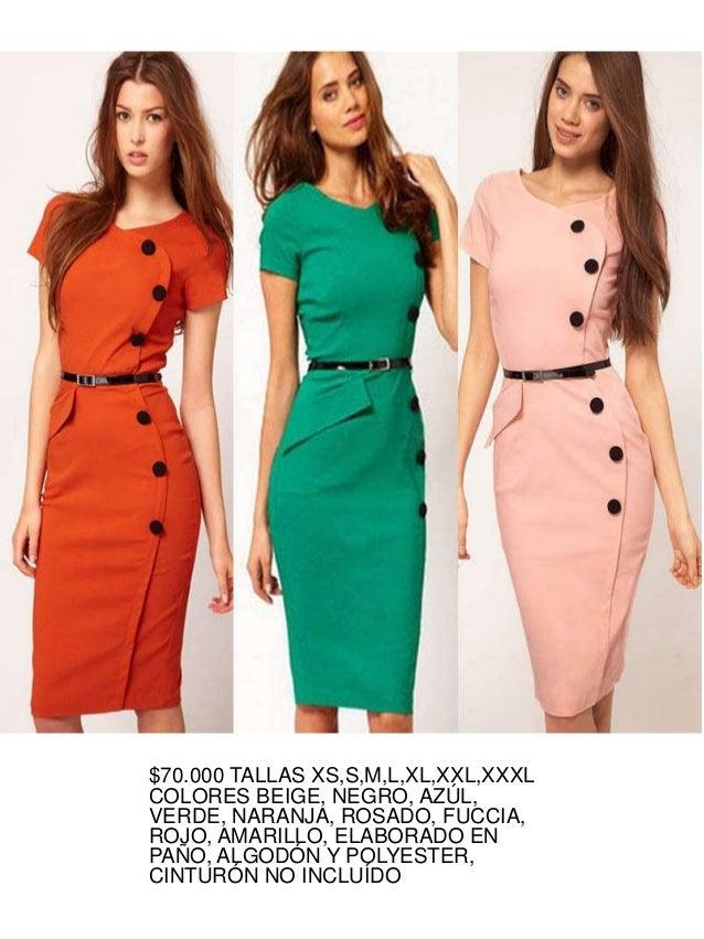 abbc6dde5 Catálogo vestidos sobrios