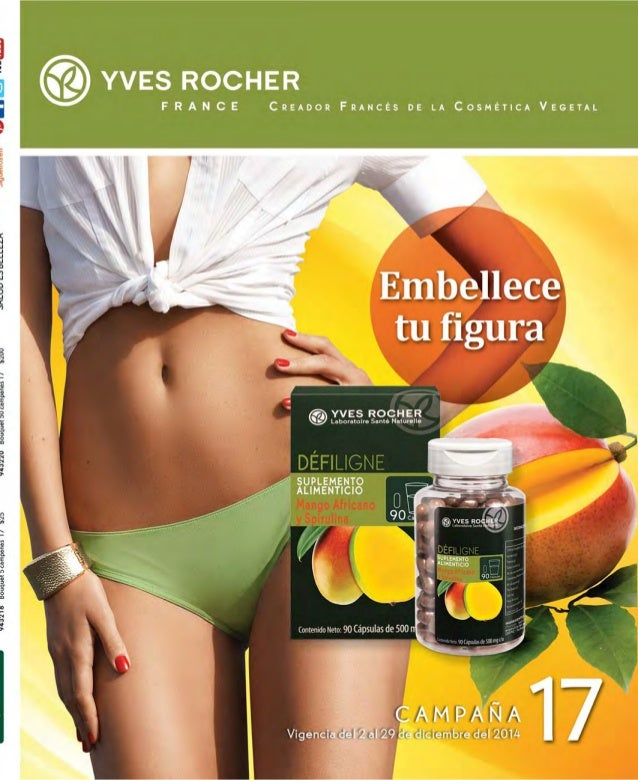 Catálogo Yves Rocher Campaña 17 2014