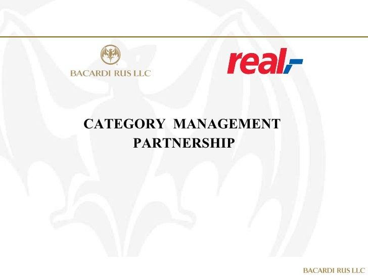 CATEGORY  MANAGEMENT  PARTNERSHIP
