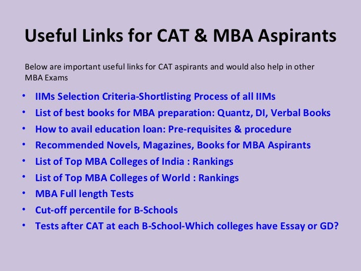 Cat Mba Books Free Download