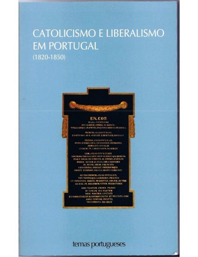 A Pastoral de S. Frei Fortunato de São Boaventura: aspectos do pensamento contra-revolucionário poertuguês no Séc. XIX