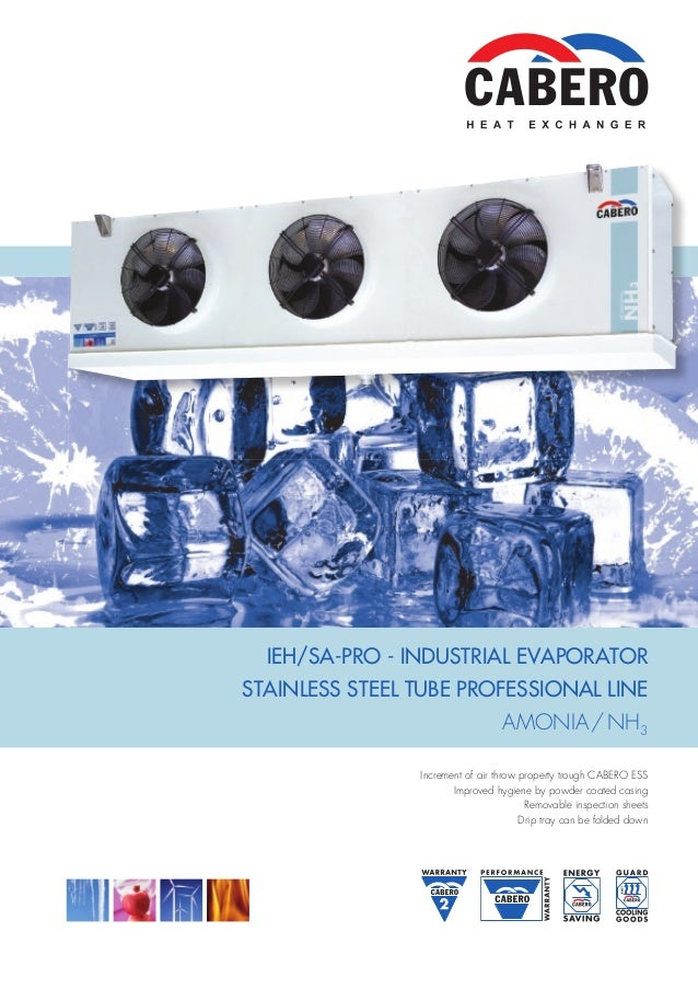 catologue dan lanh cabero  ieh sa pro industrial evaporatorstainless steel tube professional line