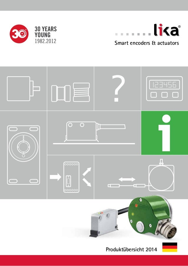 ?  ®  Smart encoders & actuators  Produktübersicht 2014