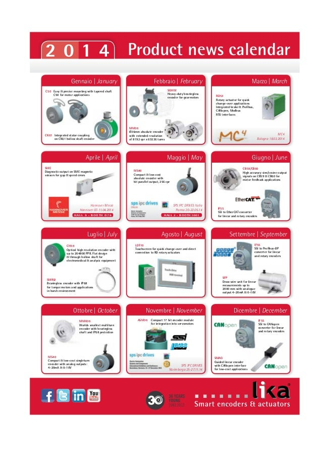 Neue Katalog Produktübersicht 2014 von Lika Electronic 0414 DE Slide 3