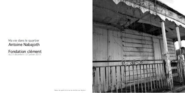 Catalogue d'Antoine Nabajoth Slide 2