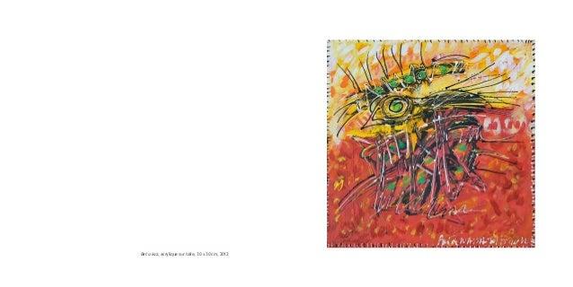 Bet a kaz, acrylique sur toile, 30 x 30 cm, 2012