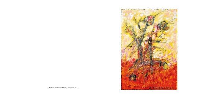 Bwabwa, acrylique sur toile, 38 x 55 cm, 2012