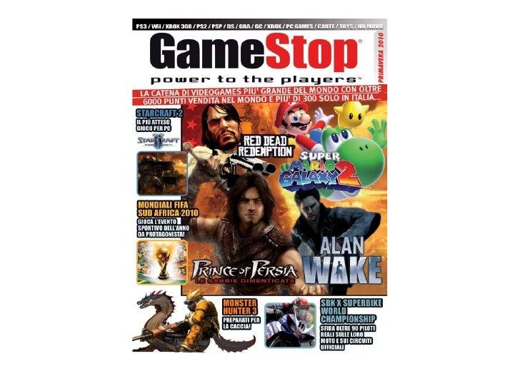 Catalogo Primavera 2010 GameStop
