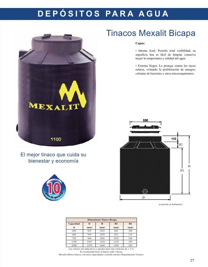 Catalogo De Productos Mexalit 2010