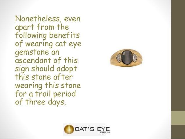 Cats eye gemstone for gemini zodiac sign