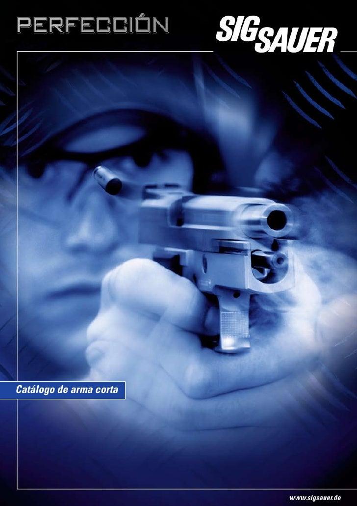 Catálogo de arma corta
