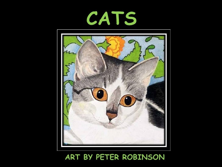 CATS ART BY PETER ROBINSON