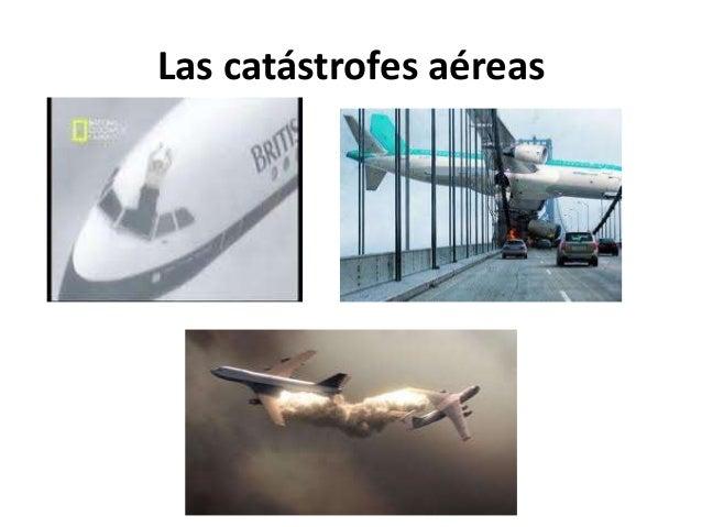 Las catástrofes aéreas
