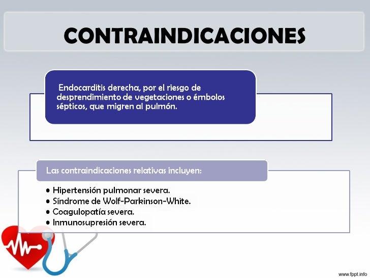 Complicaciones durante la        inserción