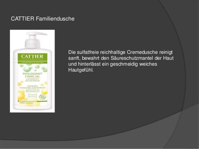 CATTIER Familiendusche  Die sulfatfreie reichhaltige Cremedusche reinigt  sanft, bewahrt den Säureschutzmantel der Haut  u...
