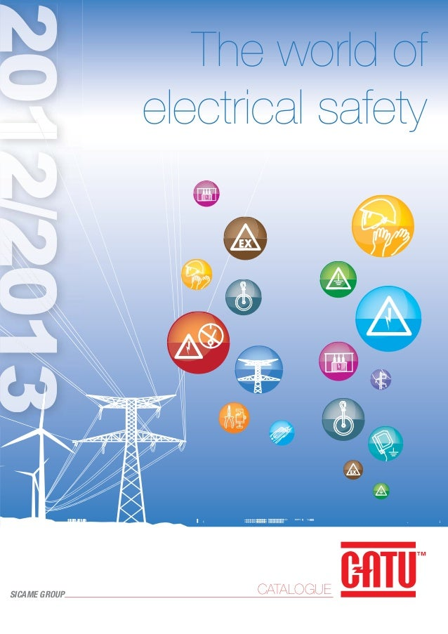 The world of electrical safety  SICAME GROUP  CATALOGUE