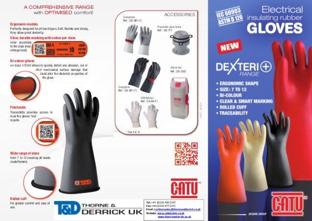 Catu Insulating Gloves Dexteri Electrical Insulating