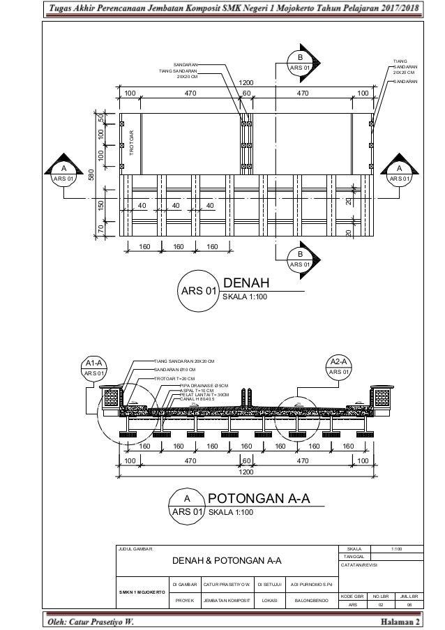 perencanaan jembatan komposit gambar rencana rencana anggaran biaya 7 638