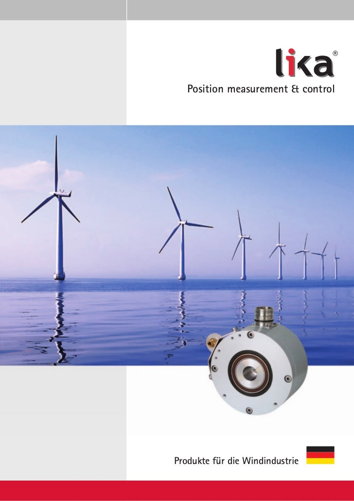 ®   Position measurement & controlProdukte für die Windindustrie