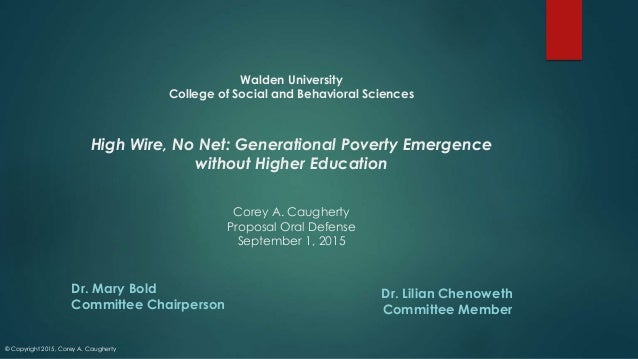 walden university problem statement