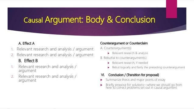 causal analysis english