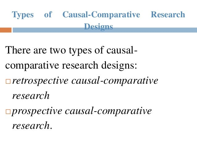 Comparative research