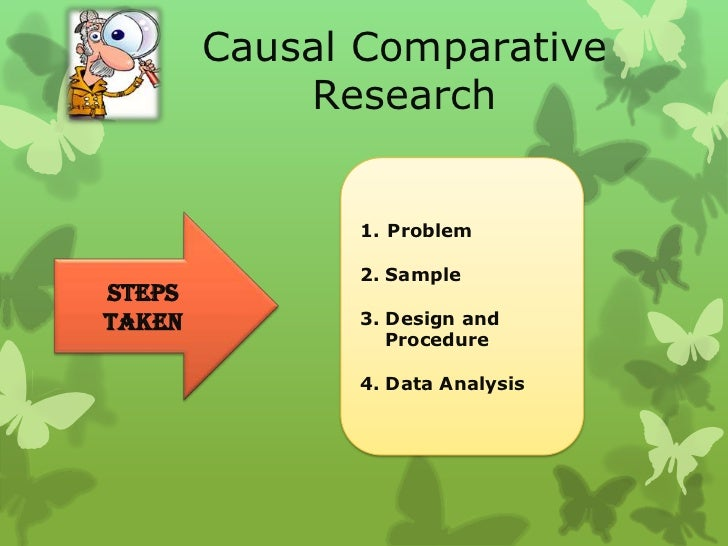 causal comparative research ckv