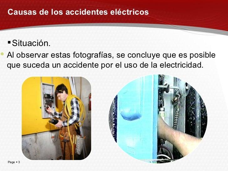 Causas Accidentes