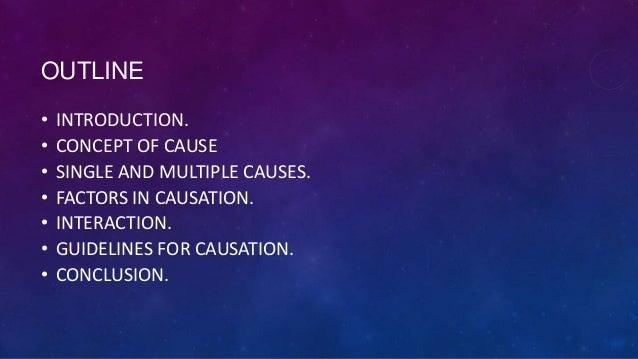 Causation in epidemiology Slide 2