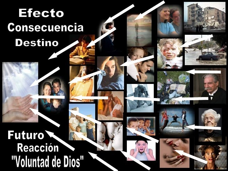 "Efecto Destino Futuro ""Voluntad de Dios"" Reacción Consecuencia"