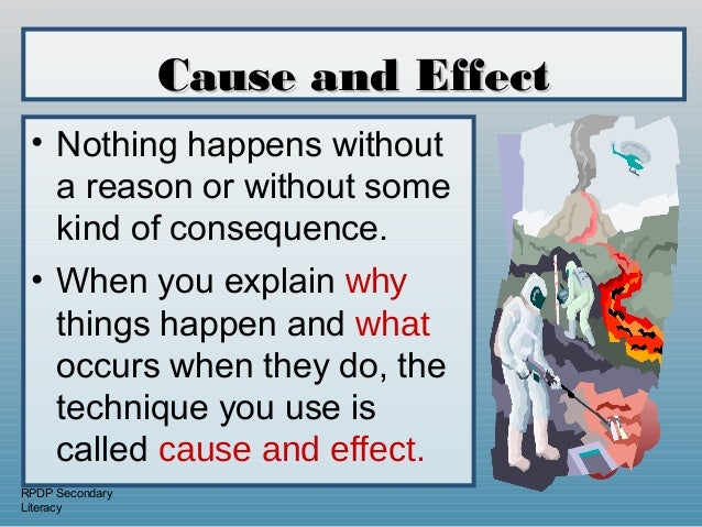 cause and effect paper