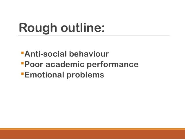 cause effect essay mass lecture  24 thesis statement anti social behaviour