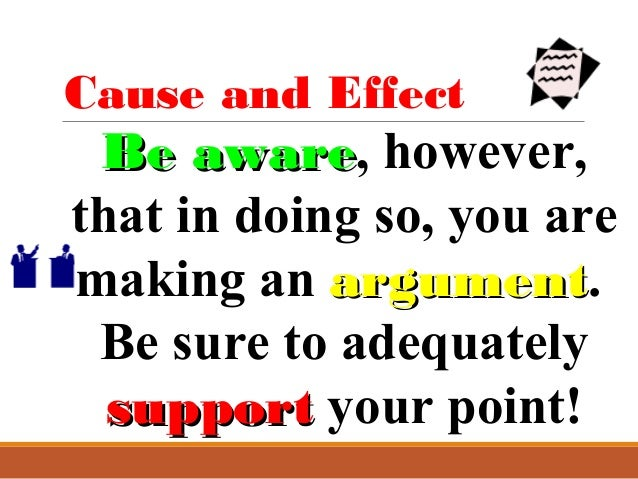 cause effect essay mass lecture  cause and effect