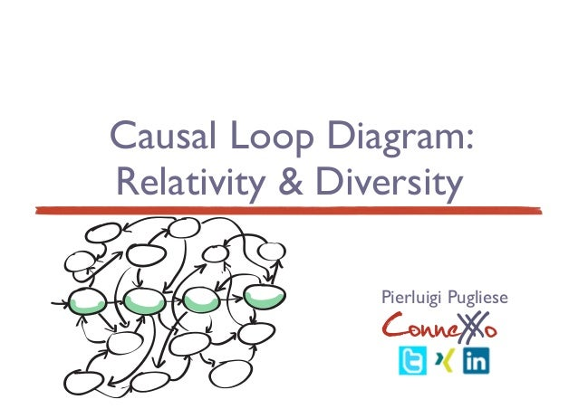 Causal Loop Diagram: Relativity & Diversity ConneXoX Pierluigi Pugliese