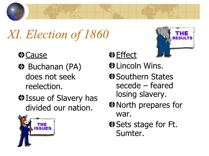 the cause and effect of slavery Shows that the slave trades had an adverse effect on africa's long-term  the past  are also poor today, even though the slave trades did not cause these areas to.