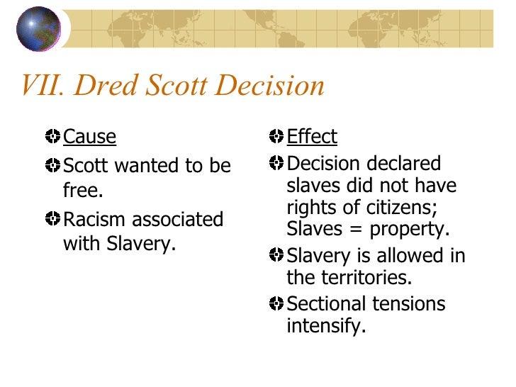 CauseEventEffect – Dred Scott Worksheet